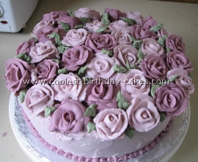Coolest Flower Birthday Cakes