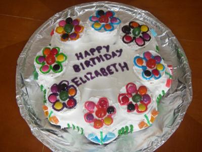 Elizabeth's Flower Cake