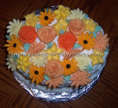 Coolest Flower Cakes