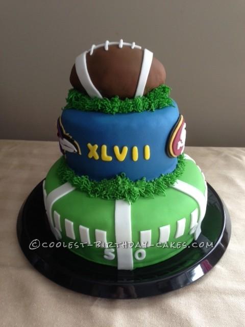 Coolest Superbowl XLVII Cake