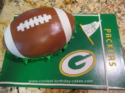 Coolest Football Birthday Cake Design