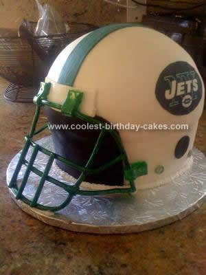 Coolest Jet Helmet Birthday Cake Design