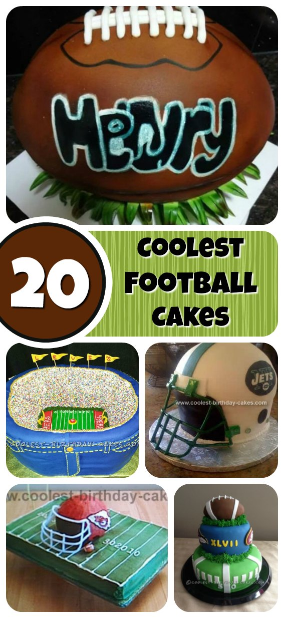 Create awesome Football Birthday Cakes for the footy fan in your family. You can make it personalized by making it his favorite football team! Here are some ideas to help you get inspired.