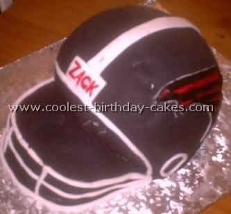Football Cake Picture