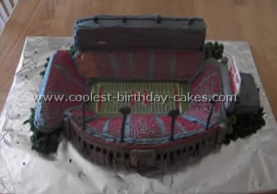 Coolest Football Cakes Photos And How To Tips