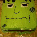 Frankenstein Birthday Cakes