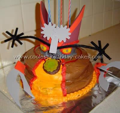 Madame Gasket Free Cake Design
