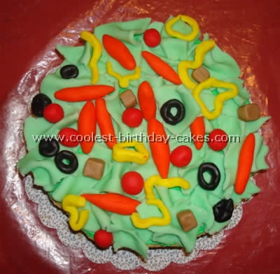 Salad-Shaped Cake