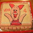 Piglet Birthday Cakes