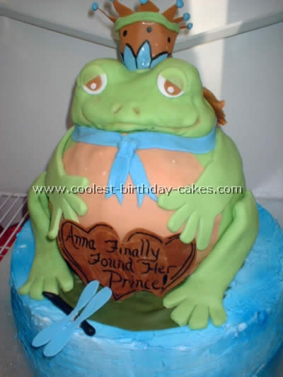 Coolest Homemade Frog Birthday Cakes