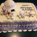 Polar Bear Birthday Cakes