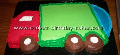 Coolest Homemade Garbage Truck Cakes