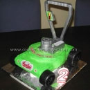 Lawn Mower Birthday Cakes