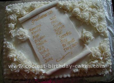 Graduation Cake Photo
