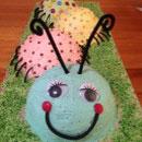 Caterpillar Birthday Cakes