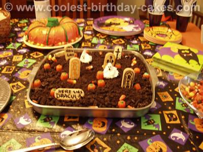 Graveyard Cake Photo