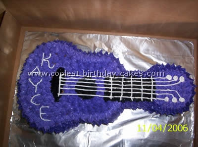 Awesome Guitar Cake Designs To Make The Coolest Ever
