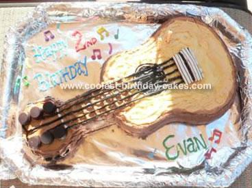 Wilton Guitar Cake Recipe