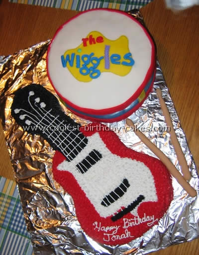 Coolest Guitar Cake Photos And How To Tips