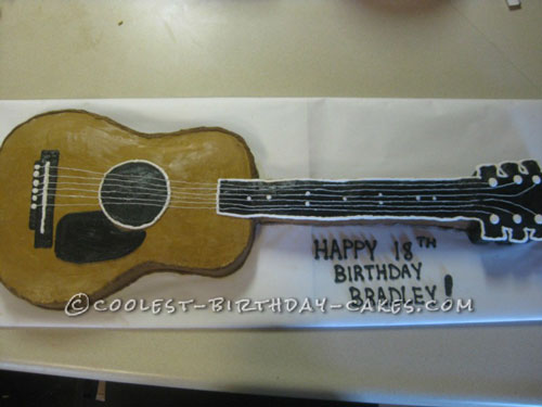 The Ultimate Guitar Cakes for your Favorite Musician