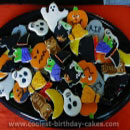 Halloween Cookies Birthday Cakes