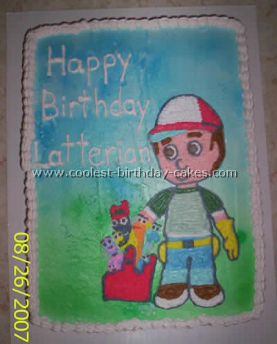 Handy Manny Cake Photo