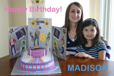 Maddie's Hannah Montana Cake;