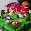 Barnyard Cupcakes Birthday Cakes