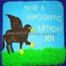 Hippogriff Buckbeak Birthday Cakes