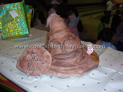 Homemade Hagrid Cake