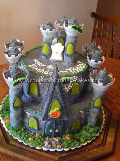Haunted House Cake Photo
