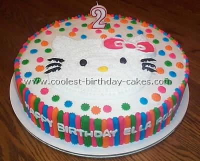 Hello Kitty Birthday Cake Photo