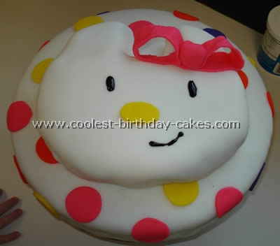Hello Kitty Cake Template 93976 TIMEHD
