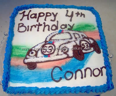 Herbie the Love Bug Cake Photo