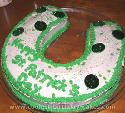 St. Patrick's Day Holiday Cakes