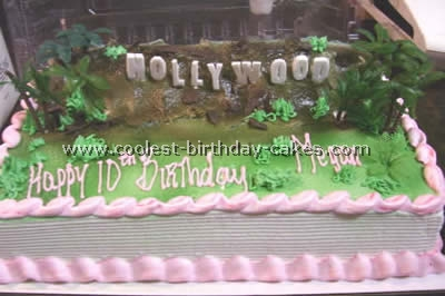 Coolest At The Movies Hollywood Cake Ideas