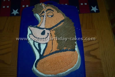 Home on the Range birthday cake idea