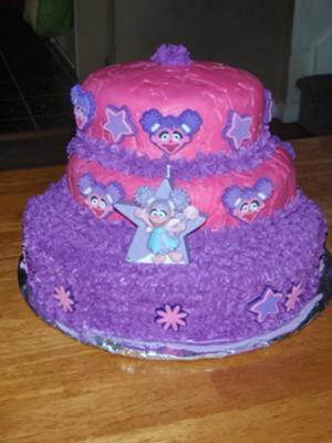 Abby Cadabby Cake