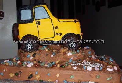 Jeep Cake Photo