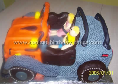 Coolest Homemade Jeep Cakes
