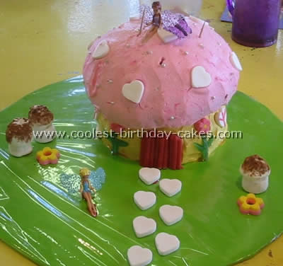 Mushroom-Shaped Homemade Cake Recipe