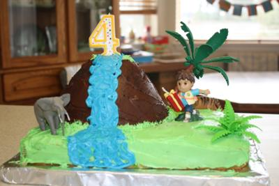 Diego Waterfall Cake