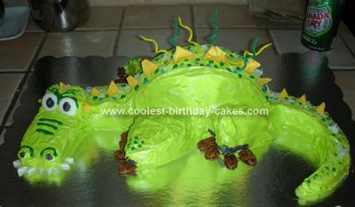 Scary Dragon Cake