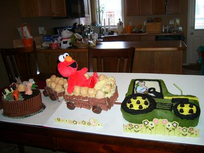 Riley's 2nd Birthday Cake