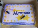 Homemade Hanna Montana Birthday Cake