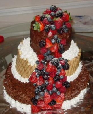 Birthday Cake Made Of Fruits is strawberry a fruit