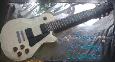 Les Paul cake
