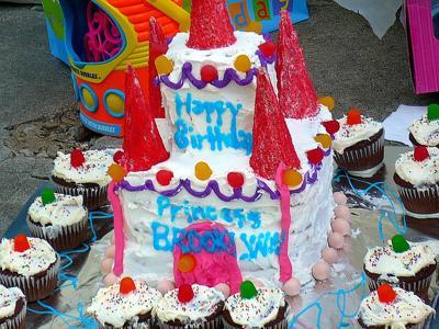 Brooklynn's Birthday Castle!