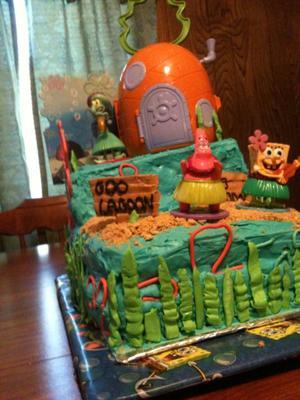 Goo Lagoon Cake
