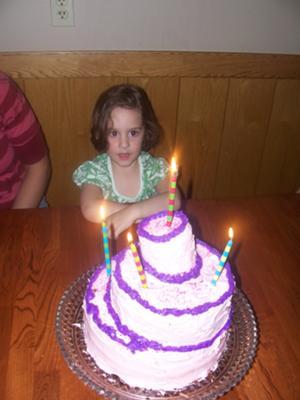 Topsy-turvy Birthday Cake